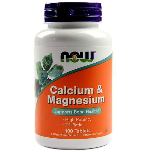 Now Calcium & Magnesium post-workout supplements
