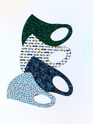 Set of all 4 Face Masks