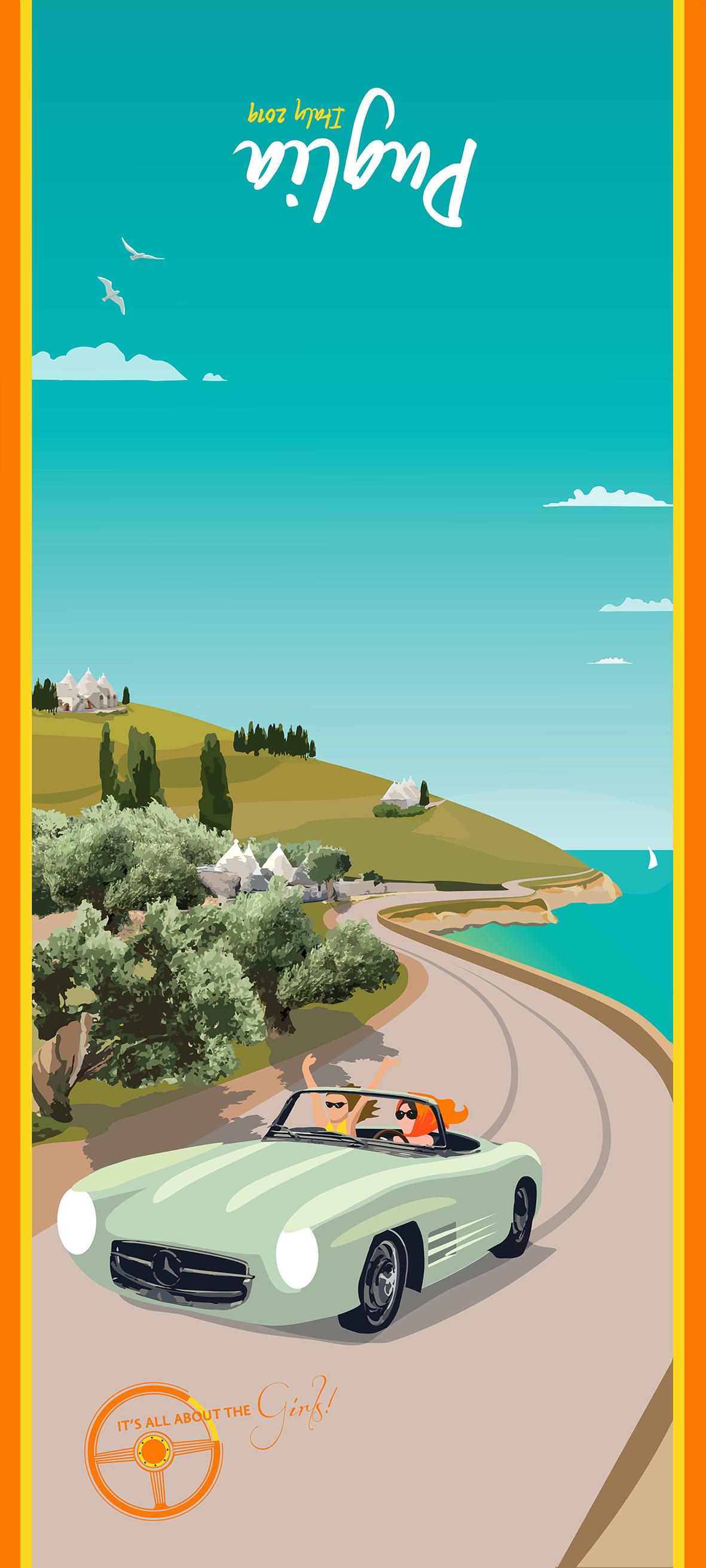 CAR RALLY PUGLIA SCARF(FINAL PRINT)OY-co