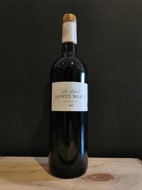 AOC Bordeaux - Cht Ste Marie - Rouge