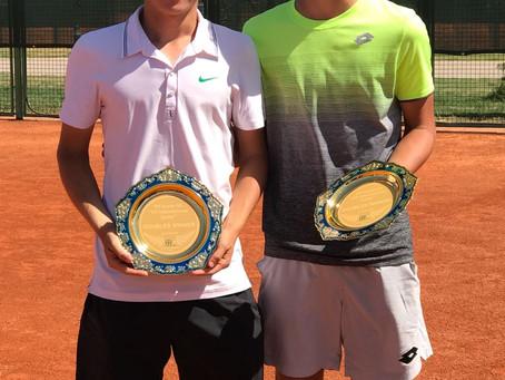 Поздравляем Егора Агафонова с победой в паре!