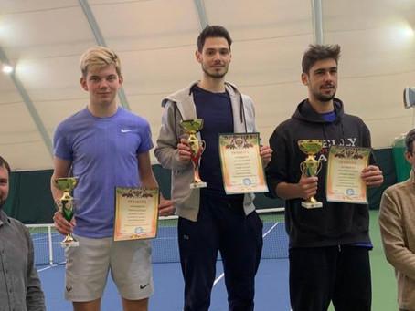 Поздравляем Елисея Калашникова с бронзой на турнире РТТ!