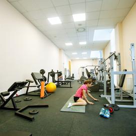 Тренажерный зал Академии тенниса им. Н.Н.Озерова