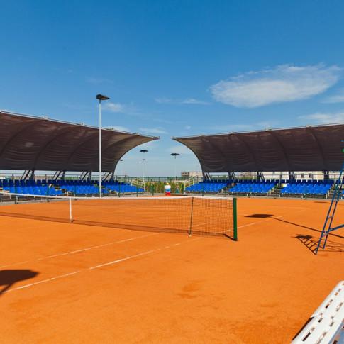 Центральный корт Академии тенниса им.Н.Н.Озерова
