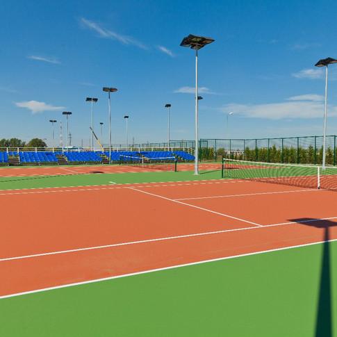 Открытые корты Академии тенниса имени Н.Н.Озерова