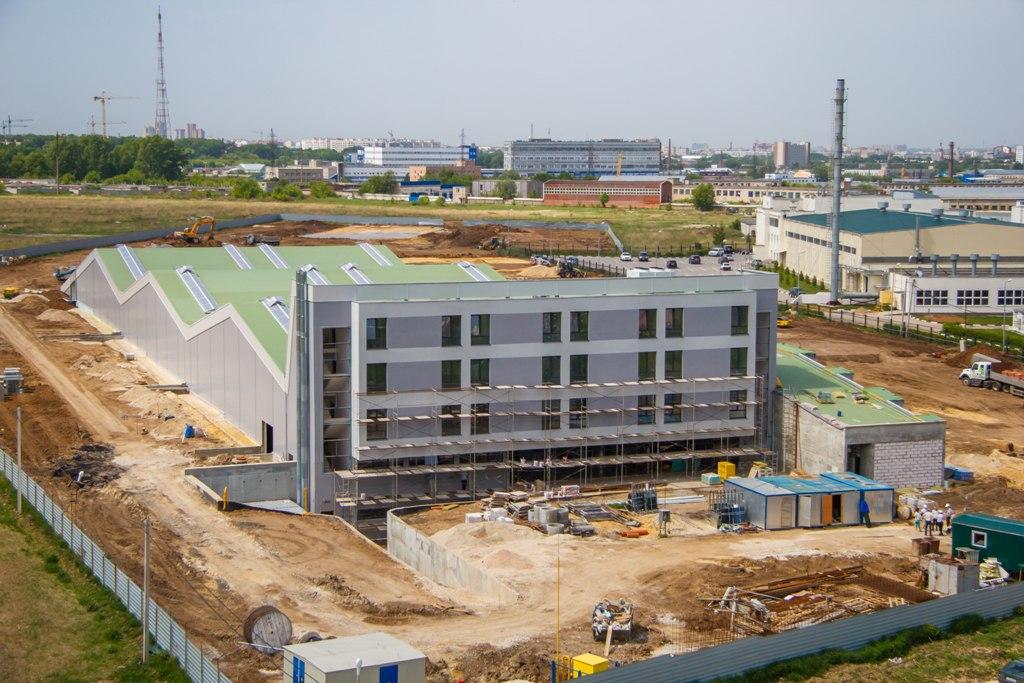 Строительство Академии г.Рязань