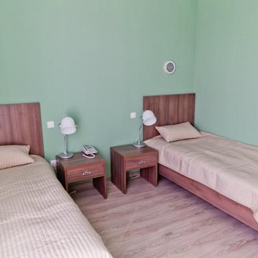 Двухместный номер в гостинице Академии тенниса им.Н.Н.Озерова