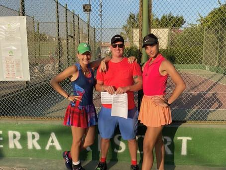 Поздравляем теннисисток с очередной успешной неделей!