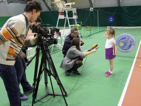 Пресс-тур по Академии тенниса им. Николая Озерова
