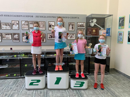 Первый турнир РТТ 2021 года среди девушек 9-10 лет «Окские просторы»