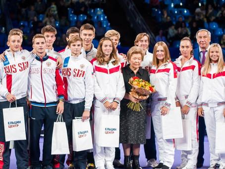 Теннисисты академии удостоены награды