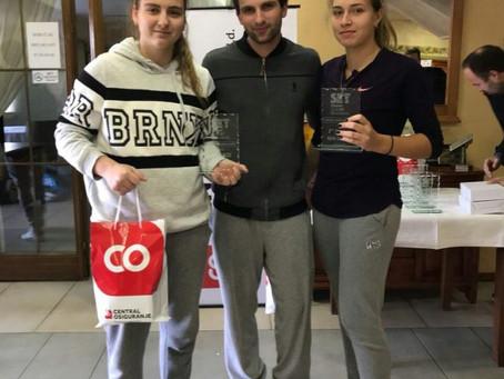 Поздравляем Луневу Анастасию и Михайлову Ксению с первым местом в паре!