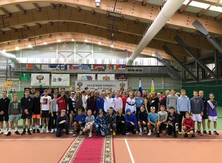 Открытие турнира Kremlin Cup Junior 2020