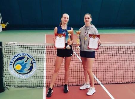 Поздравляем теннисистов с успехами!