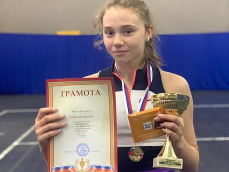 Поздравляем Полину Кайбекову с победой!