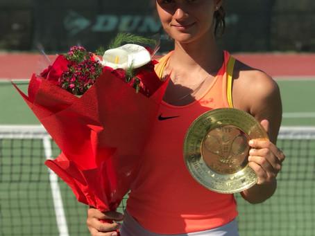 Поздравляем наших теннисистов с успешной турнирной неделей!