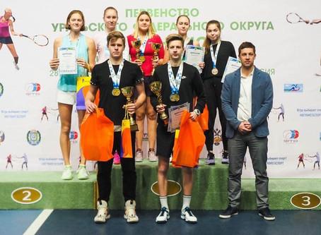 Поздравляем теннисистов с успешным завершением первой турнирной недели весны!