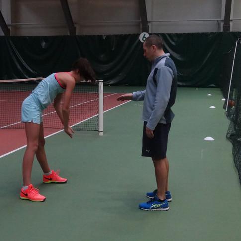 Индивидуальные занятия по фитнесу в Академии тенниса