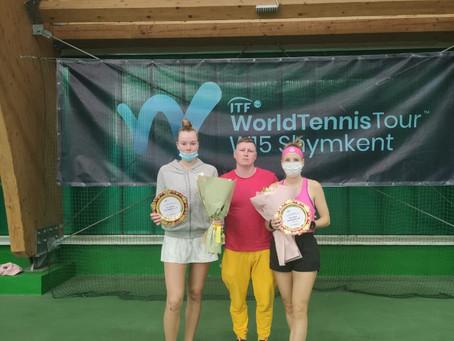 Поздравляем Дарью Мишину с очередным финалом в паре на ITF $15.000!