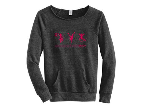 dance is for EVERYBODY - Fleece Sweatshirt