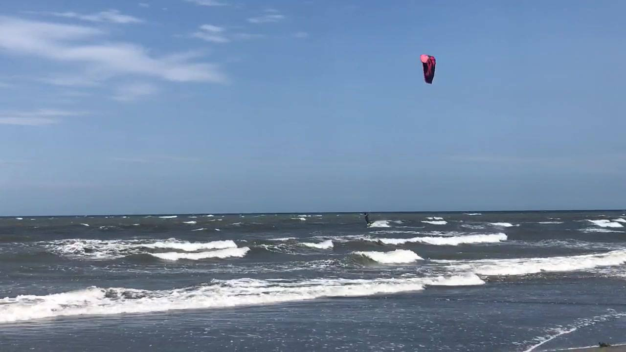 Jul 21st southwest 12m overpower #kiteboarding #kitesurfing #taiwan #taichung #fone