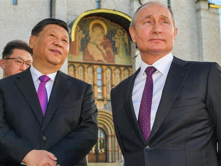 The China-Russia Gas Pipeline is Up and Running - Step by Step, Their Power Grows