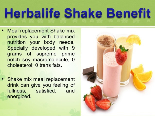 What Is the Herbalife Shake and Benefits of Using It?