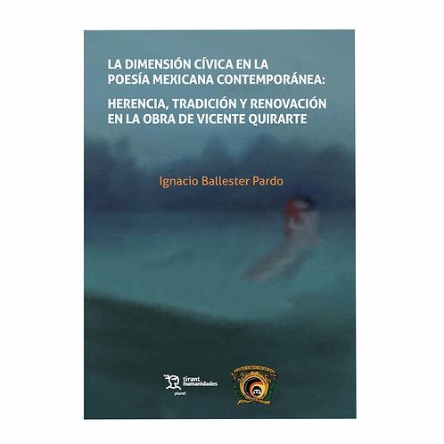 La Dimensión Cívica en la Poesía Mexicana Contemporánea