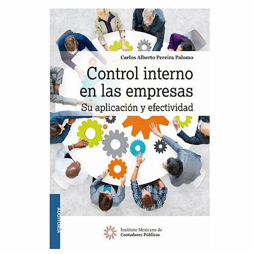 Control Interno en las Empresas. Su Aplicación y Efectividad