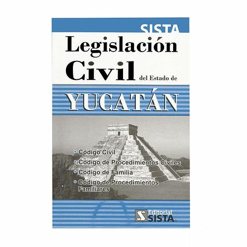 Legislación Civil del Estado de Yucatán 2021