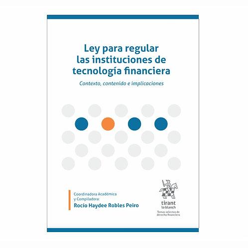 Ley para Regular las Instituciones de Tecnología Financiera