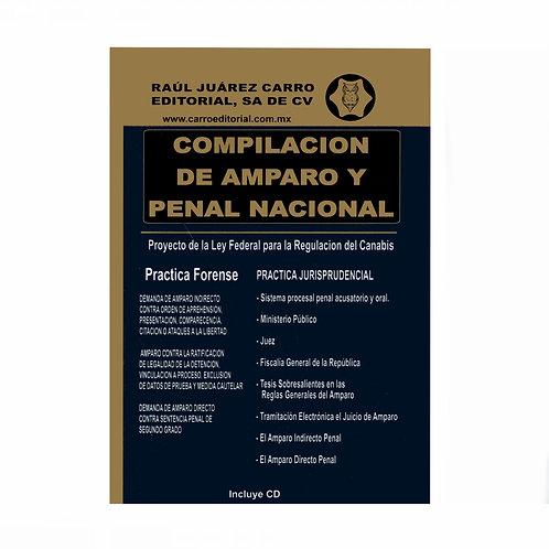 Compilación de Amparo y Penal Nacional 2021 Incluye CD