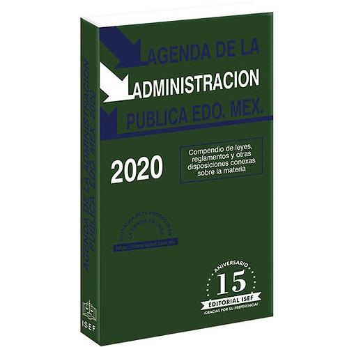 Agenda de la Administración Pública del Estado México 2020