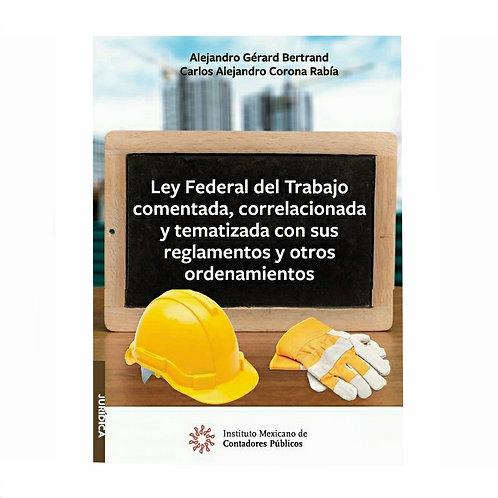 Ley Federal Del Trabajo 2020 Comentada Y Correlacionada