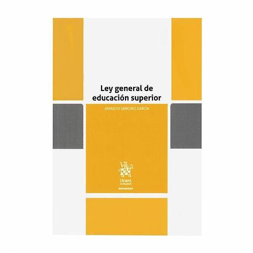 Ley General de Educación Superior 2021