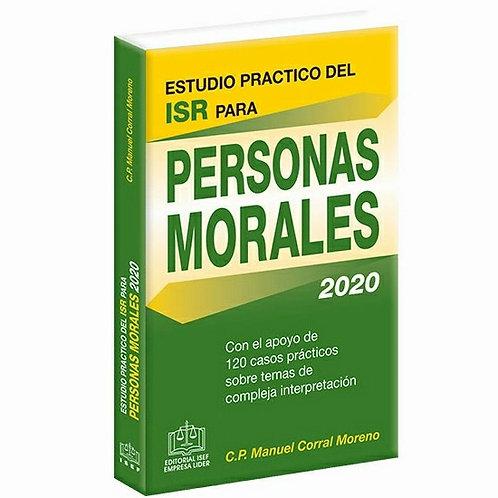 Estudio práctico del ISR para Personas Morales 2020