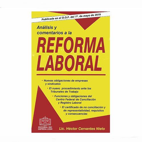 Análisis y Comentarios a la Reforma Laboral