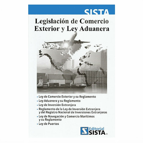 Legislación de Comercio Exterior y Ley Aduanera 2020