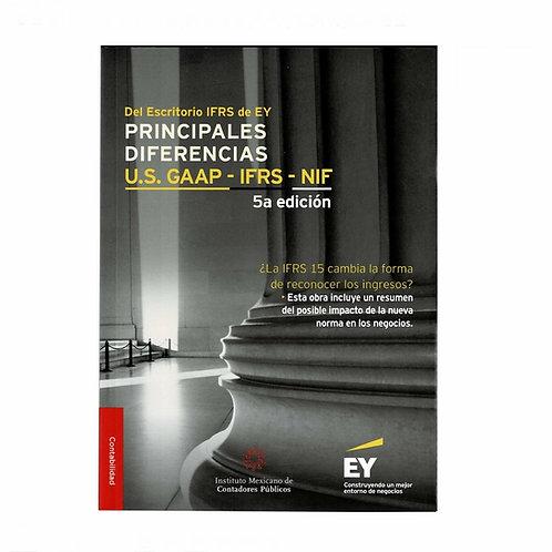Principalesa Diferencias U.S. GAAP - IFRS - NIF