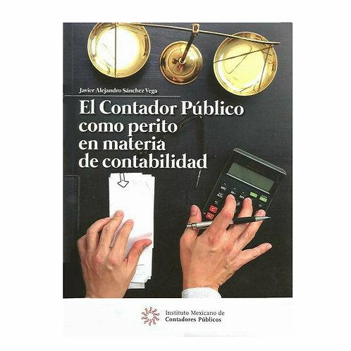 El Contador Público como Perito en Materia De Contabilidad