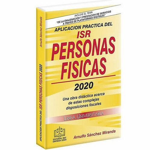 Aplicación Práctica del ISR Personas Físicas 2020