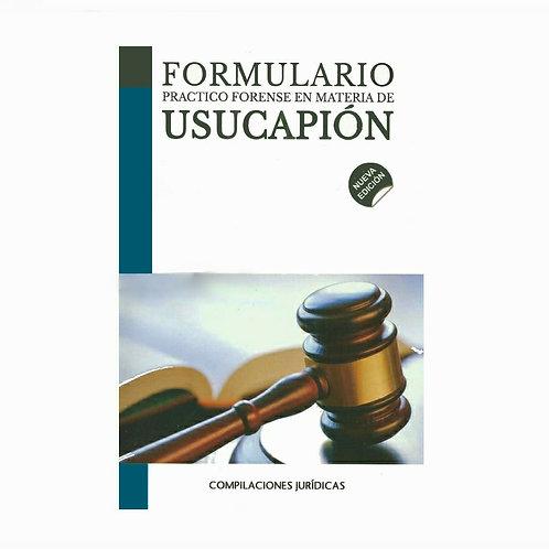 Formulario de Usucapión 2021