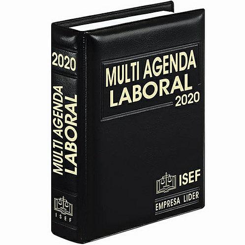 Multi Agenda Laboral 2020 Incluye Complemento