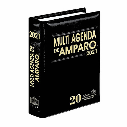 Multi Agenda de Amparo 2021