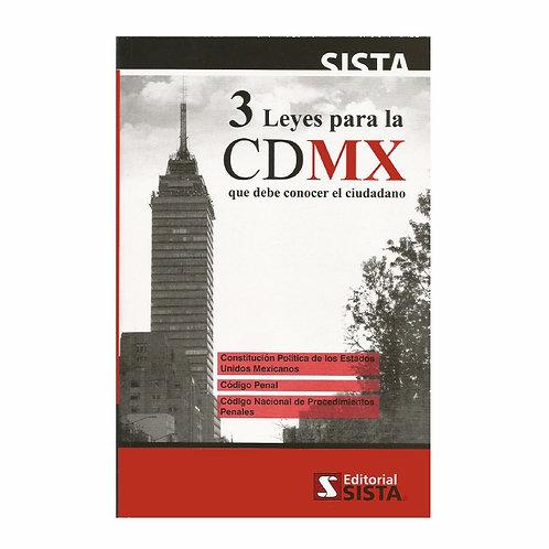 3 Leyes para la CDMX 2021