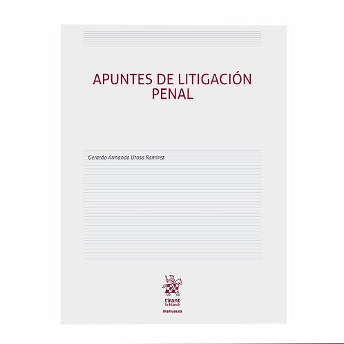 Apuntes de Litigación Penal