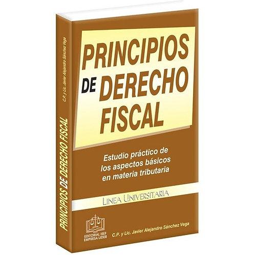 Principios de Derecho Fiscal