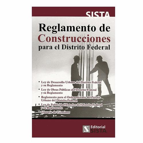 Reglamento de Construcciones para el Distrito Federal 2020