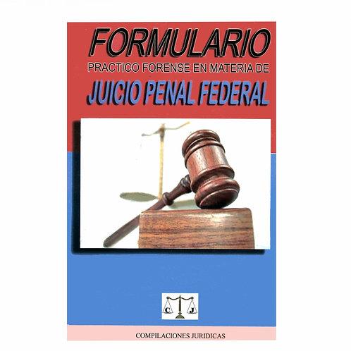 Formulario de Juicio Penal Federal 2021