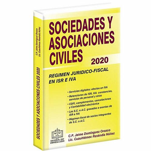 Sociedades y Asociaciónes Civiles Rég. Juridico - Fiscal